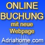 Online Buchung mit www.Adriahome.com